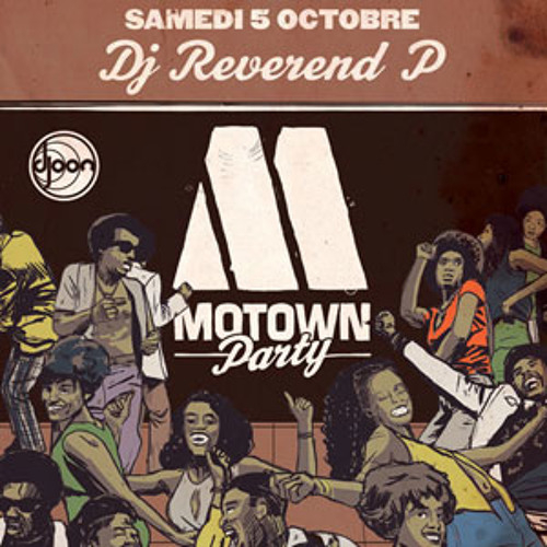 Dj Reverend P closing set @ Motown Party, Djoon, Saturday October 5th, 2013