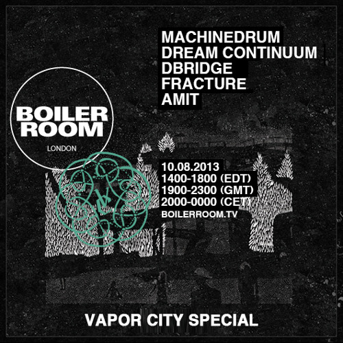 Machinedrum 50 min Boiler Room London mix