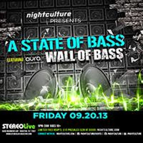JKB - A State Of Bass 2 @ StereoLive Sept 2013