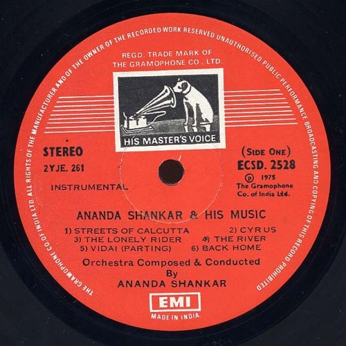 Ananda Shankar & His Music- Streets Of Calcutta (Soundhog Extended-Edit)