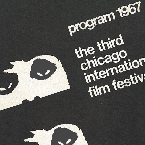 Who's behind the eyes in the Chicago International Film Festival logo?
