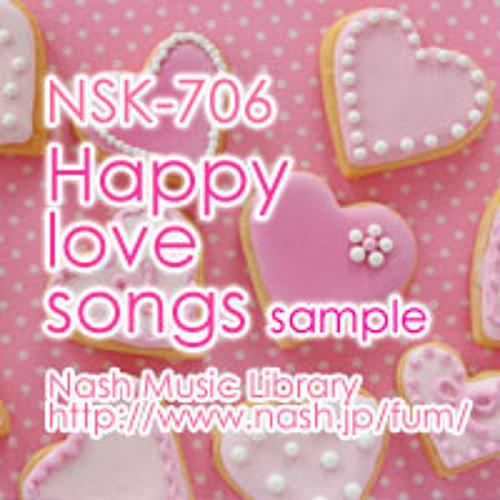 NSK-706 HAPPY LOVE SONGS 試聴用sample (Digest) By NASH