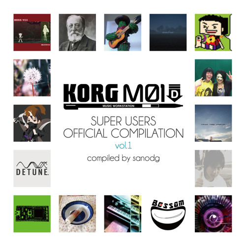KORG M01D Super Users Official Compilation DEMO