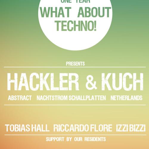 What About Techno! pres. IZZI BIZZI (live) @ Grinsekatze Munich 04.10.13