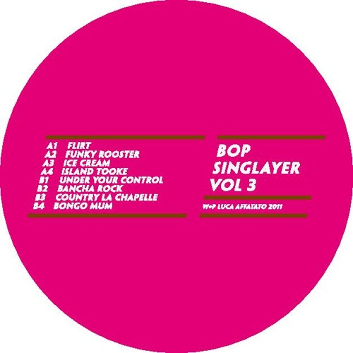 Bop Singlayer- Island Tooke (Really Swing Vol.3)