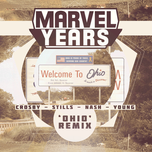 Crosby, Stills, Nash & Young- Ohio (Marvel Years Remix)