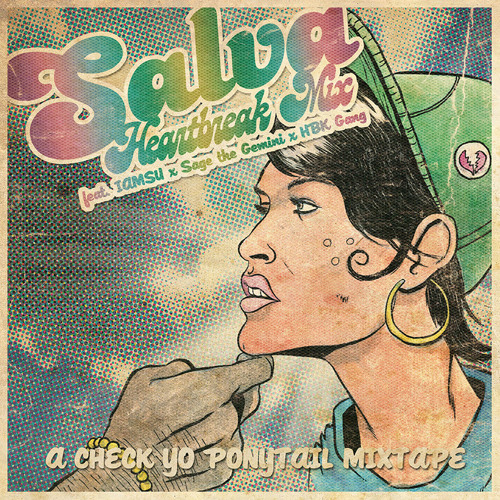 SALVA - Check Yo Ponytail Heartbreak Mix Ft. Iamsu X Sage The Gemini X HBK Gang