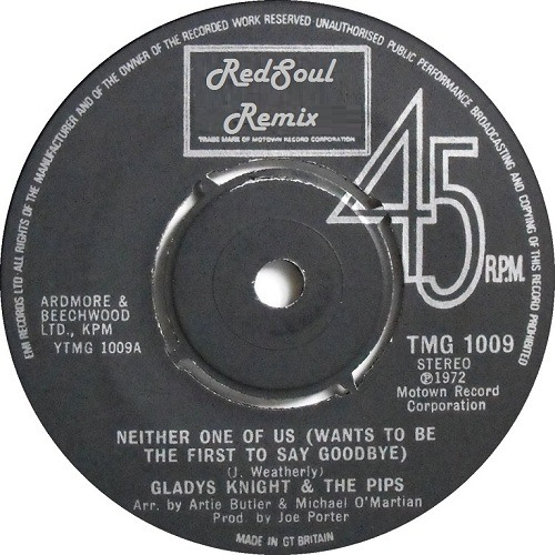 Gladys Knight & The Pips - Neither One Of Us (RedSoul Remix) ***FREE DOWNLOAD***