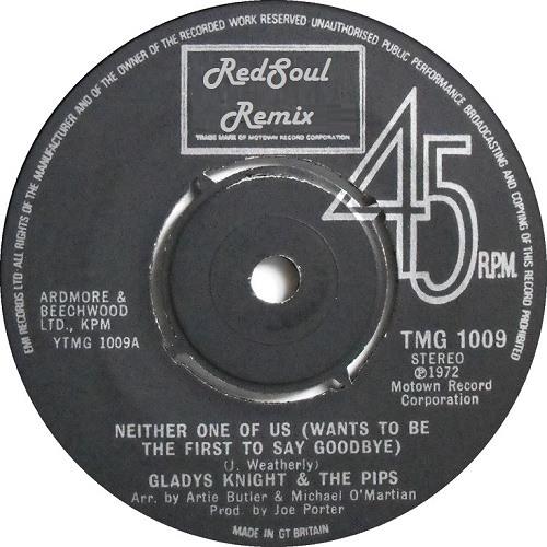 Gladys Knight & The Pips - Neither One Of Us (RedSoul Remix) DJ Koze - Pick Up