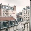 The Bells of Sacre Coeur outside our apartment window in Paris.