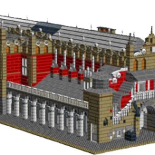 Mateusz Kustra Budowa Sukiennic z Lego 11-10-2013