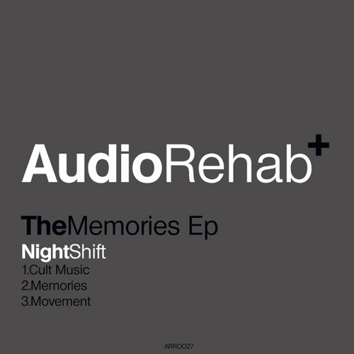 OUT NOW - Cult Music - The Memories EP (Audio Rehab)