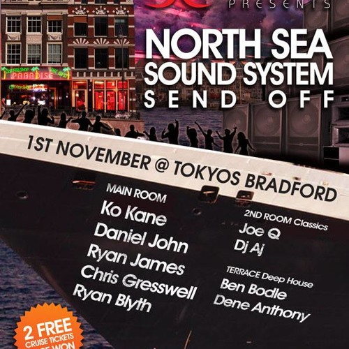 Sinful's Amsterdam Send Off @ Tokyos Bradford -1st Nov (Mixed By Chris Gresswell)[FREE DOWNLOAD]