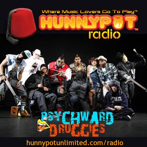Psych Ward Druggies (live) 4 on Hunnypot Radio 10.07.2013