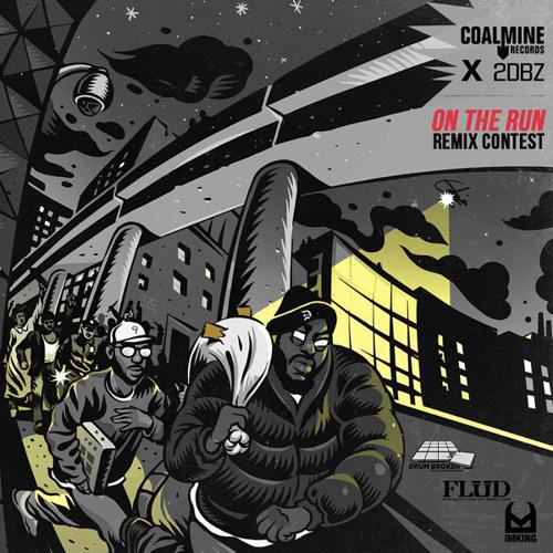 "Guilty Simpson & Small Professor (feat. DJ Revolution) - ""On The Run"" (Acapella)"