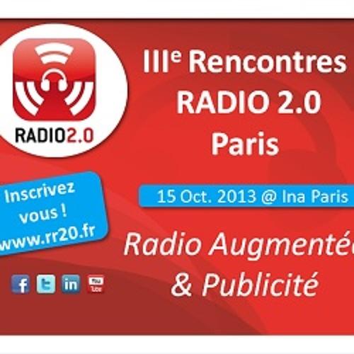III Rencontres Radio 2.0 Paris 2013 PROMO