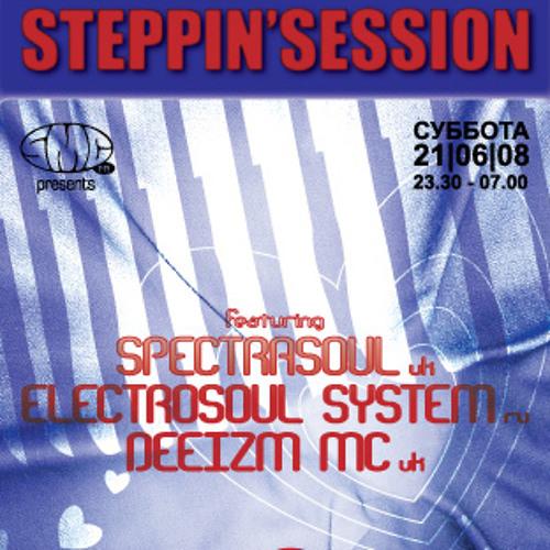 STEPPIN'SESSION LIVE: ELECTROSOUL SYSTEM & DEEIZM @ IKRA 21.06.08.