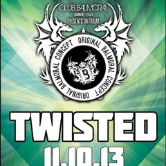 Dj PCP Live @ Balmoral-Twisted(11-10-13).