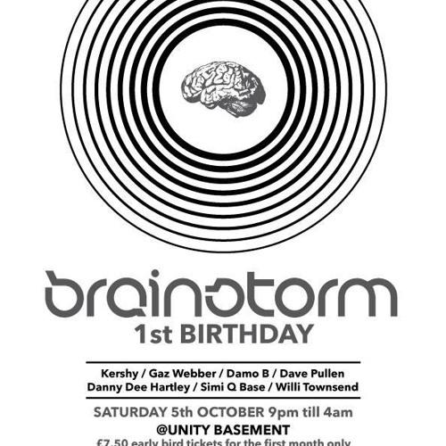 Brainstorm 1st birthday - Danny Dee -  @ unity bassment Manchester