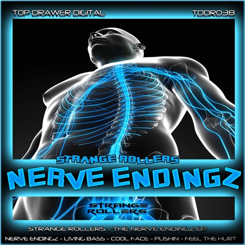 Strange Rollers - Cool Face - The Nerve EndingZ EP - TDDR038 - Top Drawer Digital