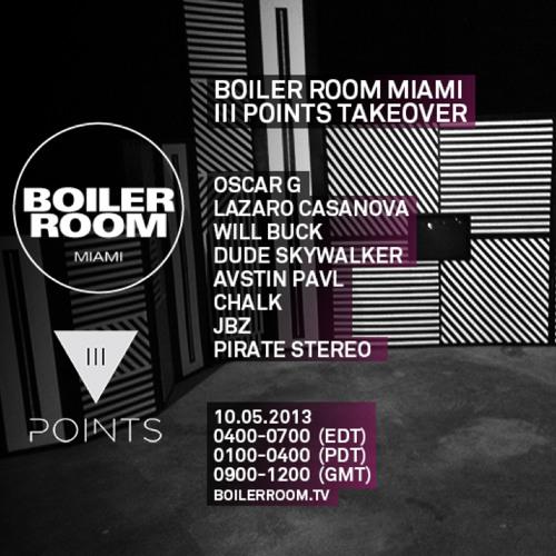 Oscar G & Lazaro Casanova 55 min Boiler Room x III Points Festival mix