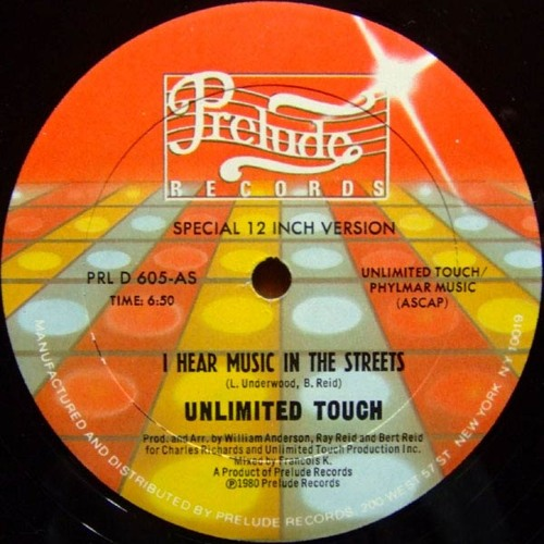 Unlimited Touch - I Hear Music In The Streets (Angel D edit) FREE DL