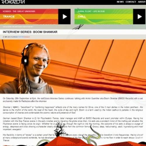 RadiOzora: Interview with Boom Shankar (BMSS Records)