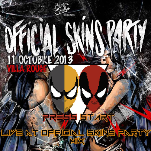 Press Start - Live At Official Skins Party - 11 10 13