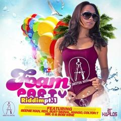 FOAM PARTY RIDDIM DIMBA SOUND MIX ! Busy Signal,Beenie Man,RDX,Khago + more