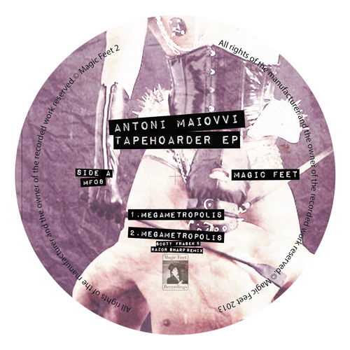 Antoni Maiovvi-Megametropolis ( Scott Fraser's Razor Sharp Remix) [96Kbps]