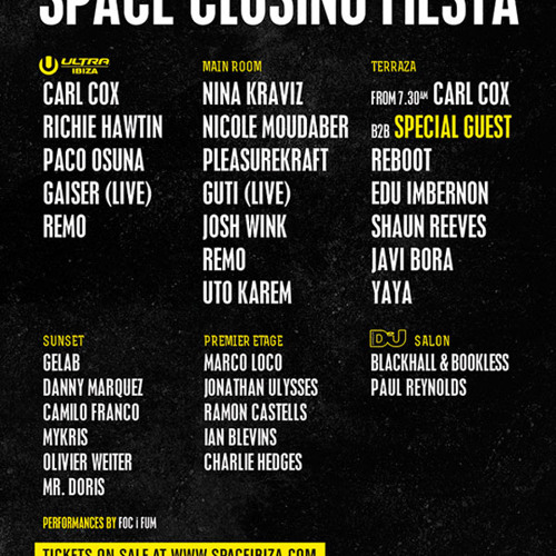 Edu Imbernon @ Space Ibiza Closing fiesta 2013