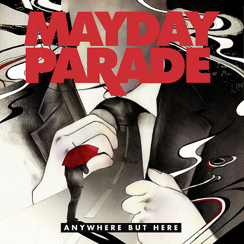 Anywhere But Here - Mayday Parade : Guitar + Track