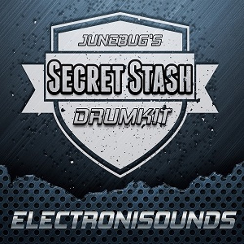 Electronisounds - Junebugs Secret Stash Drumkit - DEMO
