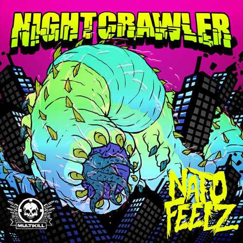"Nato Feelz ""Nightcrawler"" and Phrenik remix (clips) charted #14 and #5 on Beatport's releases charts"