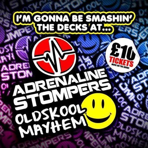 Miss Special K & MC 3Man - Adrenaline Stompers Happy Hardcore Promo Mix (Live Recording) Oct 2013