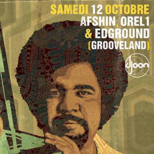 Edground @ My Grooves, Djoon, Saturday October 12th, 2013