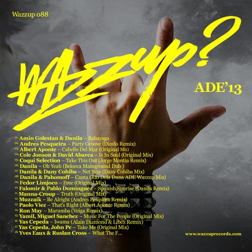 Wazzup? 088 Cole Jonson & David Abarca - Is In Soul (Original Mix)
