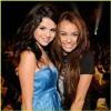 Miley cryus and Selena Gomes
