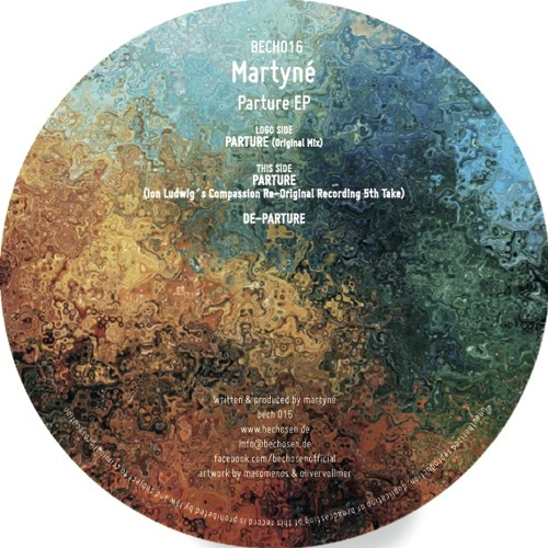 Martyné - Parture EP (Snippets)- Be Chosen 016