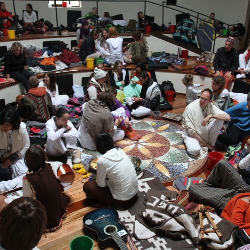 Mantras singing circle