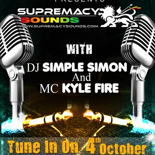 Simple Simon & Mc Fire Kyle  Live On Vibe City Radio ( Canada ) Part 1