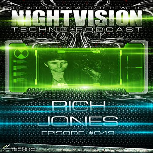 Rich Jones aka Operator [UK] - NightVision Techno PODCAST 49 pt3 2nd anniversary