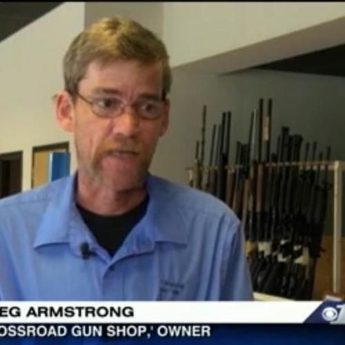 Crossroad Gun Shop building indoor range
