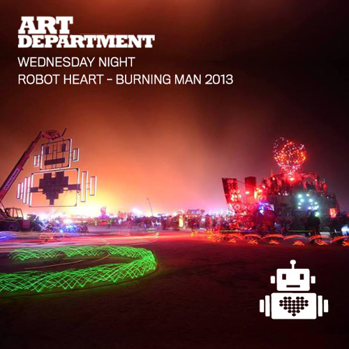 Art Department live on Robot Heart Burning Man 2013