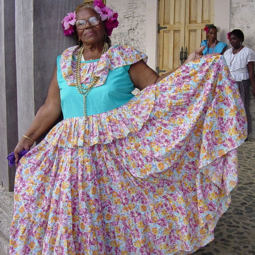 Simona Esquina: Singer in the Congo Tradition of Portobelo, Panama - 2003