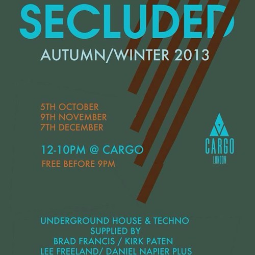 SECLUDED = Autumn series