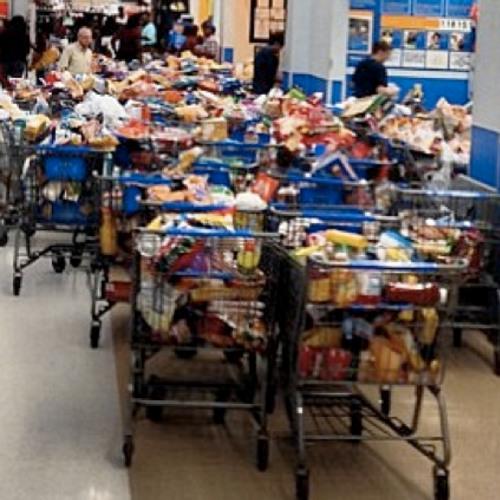 Walmart shopping spree