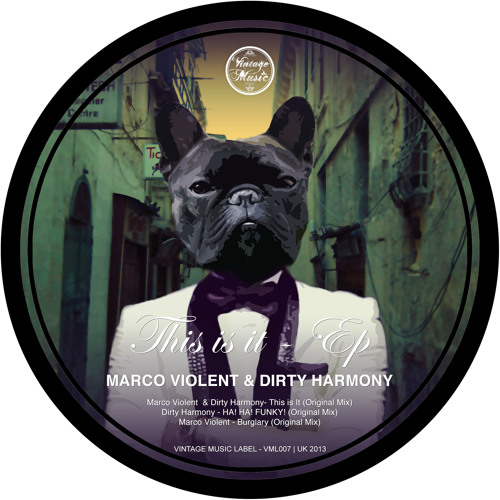 Dirty Harmony - HA! HA! FUNKY! (Original Mix) [CLIP]