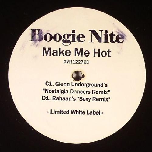 """GVR1227LTD — Boogie Nite/ Glenn Underground + Rahaan Remixes 12"""" [96kbps preview]"""