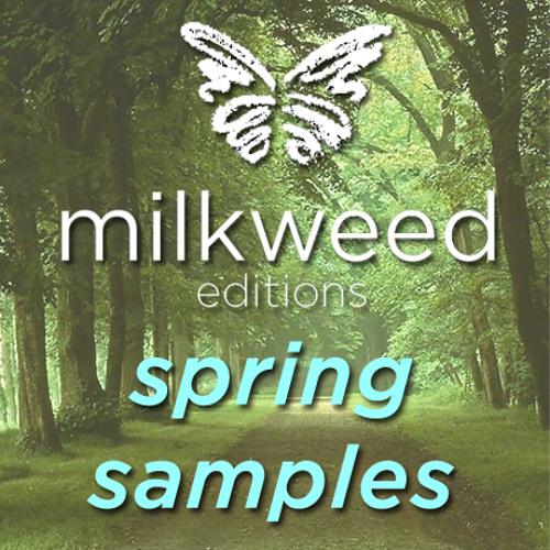 Milkweed Editions Spring Samples